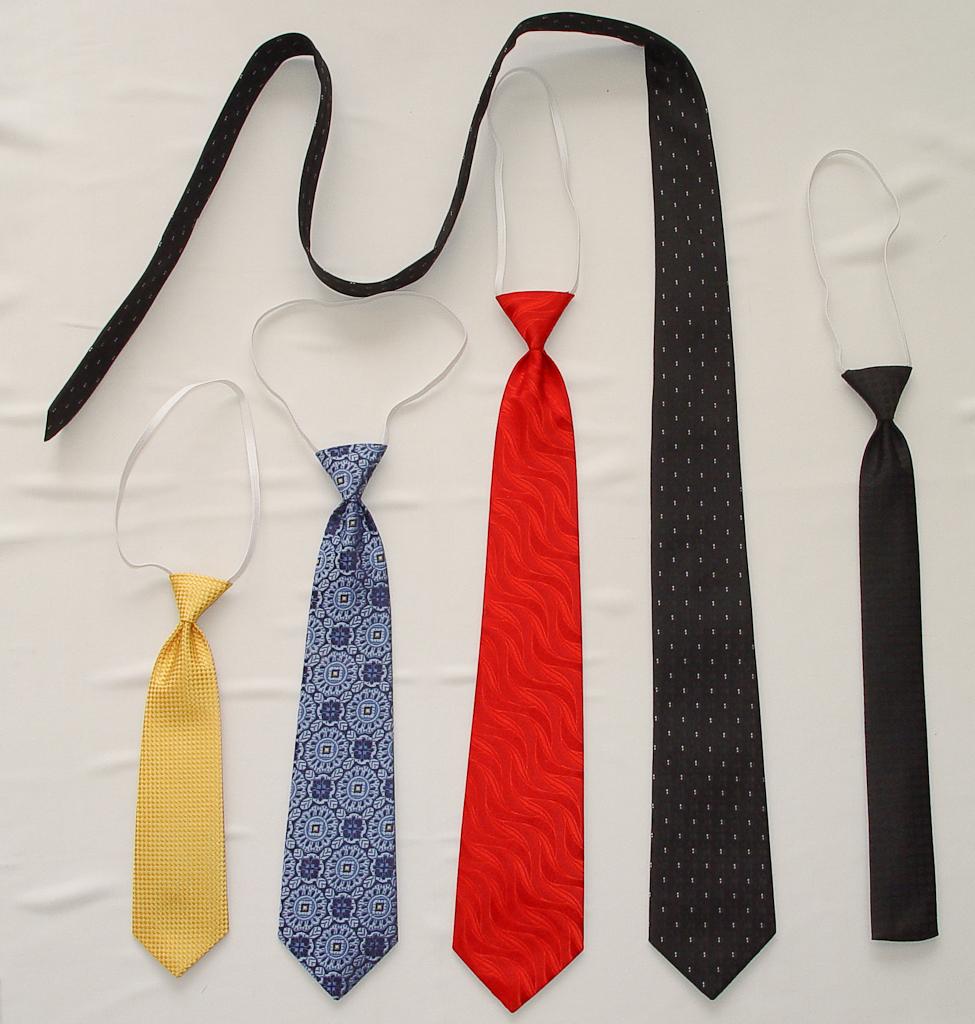 Как из галстука сделать детский галстук 967